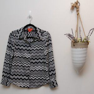Extra small Missoni by Target blouse